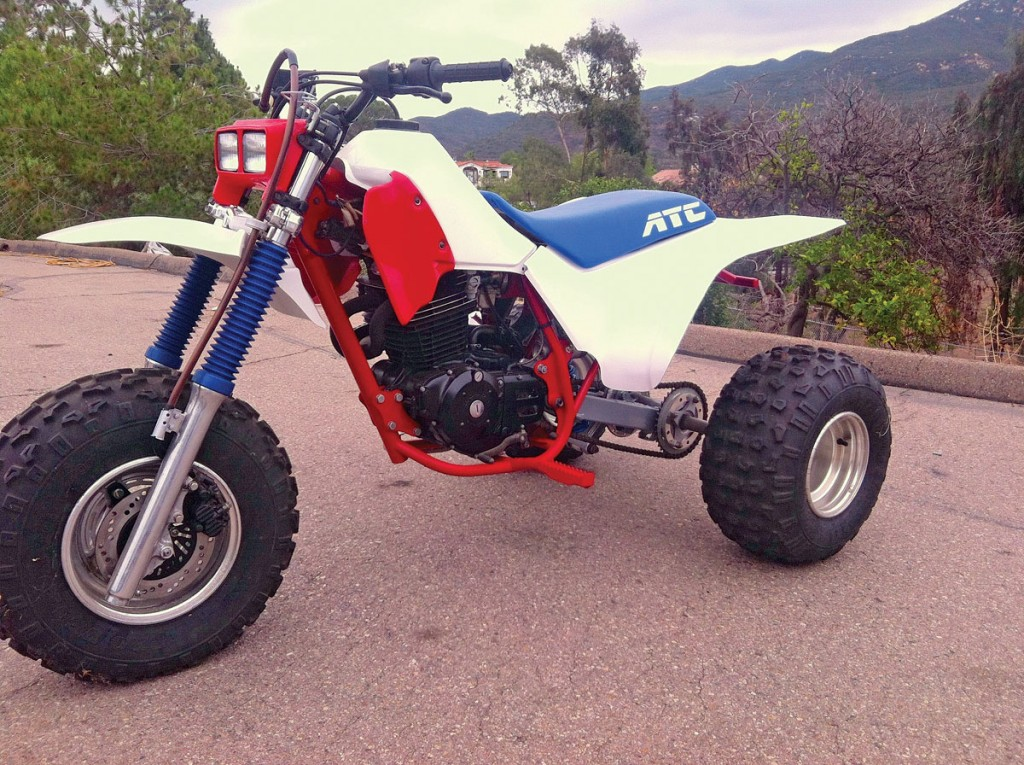 Three Wheeler Frame : Modify your machine like these readers did to their rides