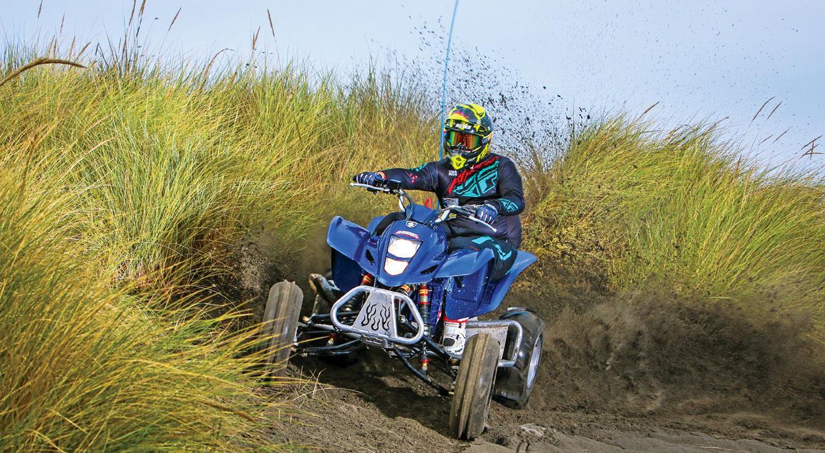 Project Suzuki LTZ400 Turned 450 | Dirt Wheels Magazine