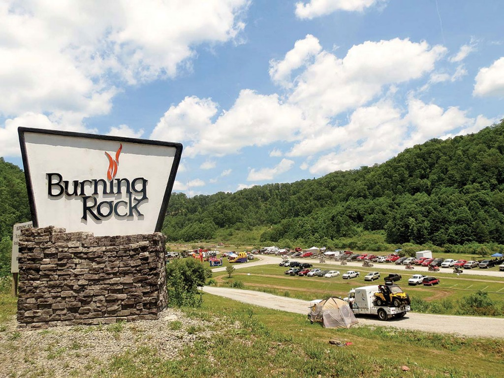 Thrills in the Hills offers ATV games, such as hill-climbs, drag racing, mud bogs and poker runs. One night there is an afterdark trail ride and fireworks show.