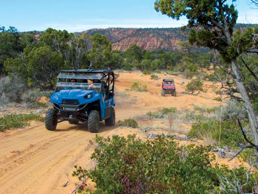 The Tri-State Jamboree consists of trails in southern Utah, eastern Nevada and northern Arizona. These rides range in skill levels from beginner to advanced.