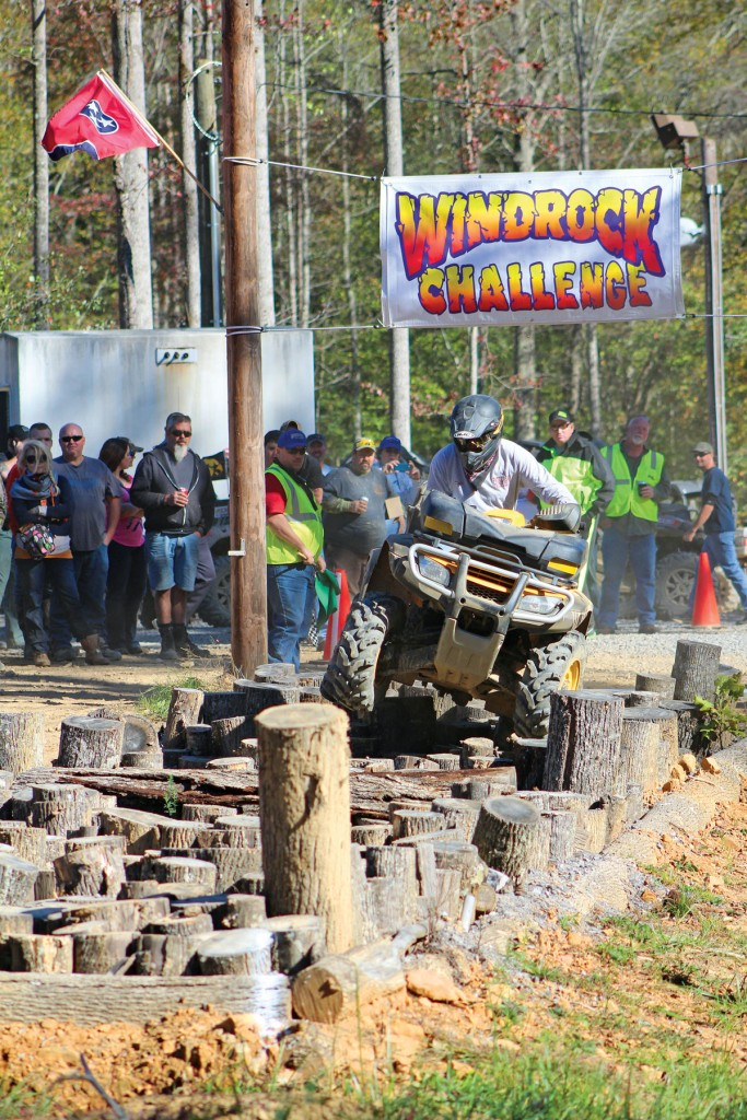 Windrock Park has over 300 miles of trails to explore for all skill-level riders. The favorite event held during the weekend is the obstacle course challenge.