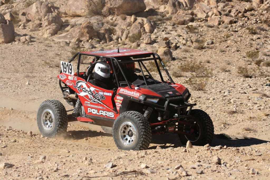 Blake Van De Loo took home the win at the 2016 King of the Hammers. He battled with last year's winner Mitch Guthrie, passing each other multiple times, but Van De Loo came out victorious.