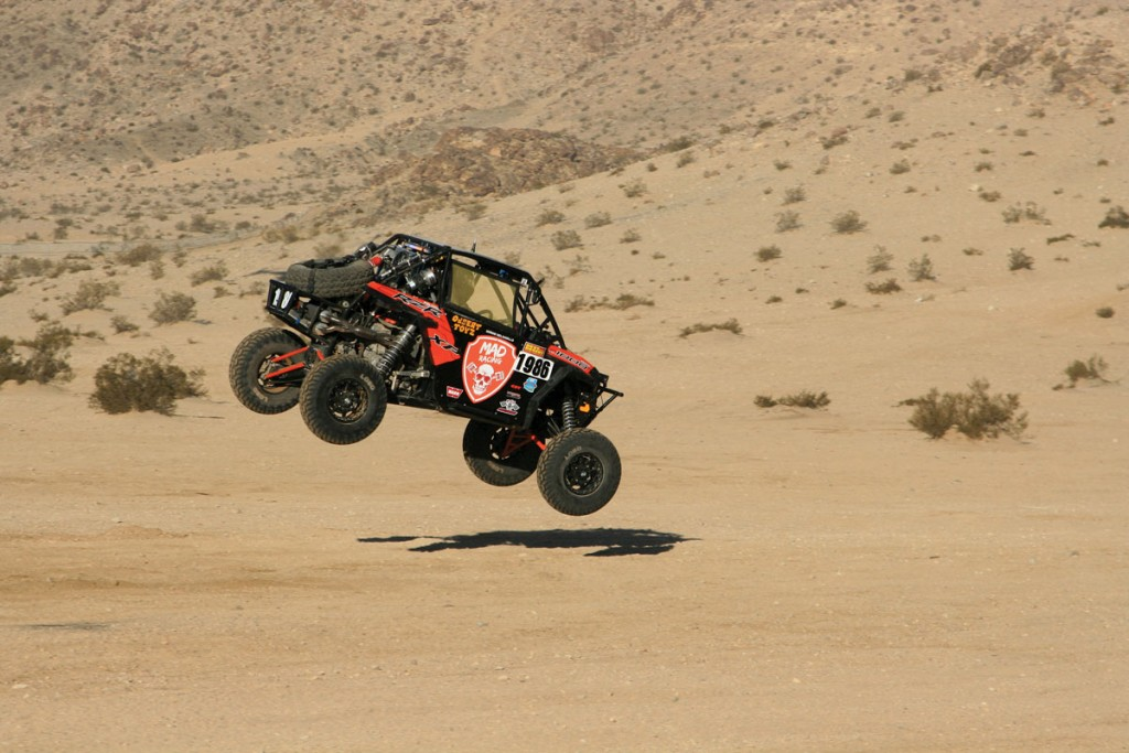 King of the Hammers competition UTVs need to be built to tackle some of the roughest terrain around. You end up racing the course more than you do the other races. One broken part can ruin your chances to finish.