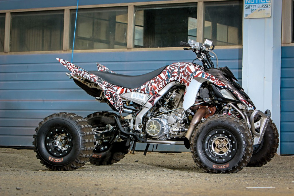 PROJECT: Yamaha Turbo Raptor 700 | Dirt Wheels Magazine
