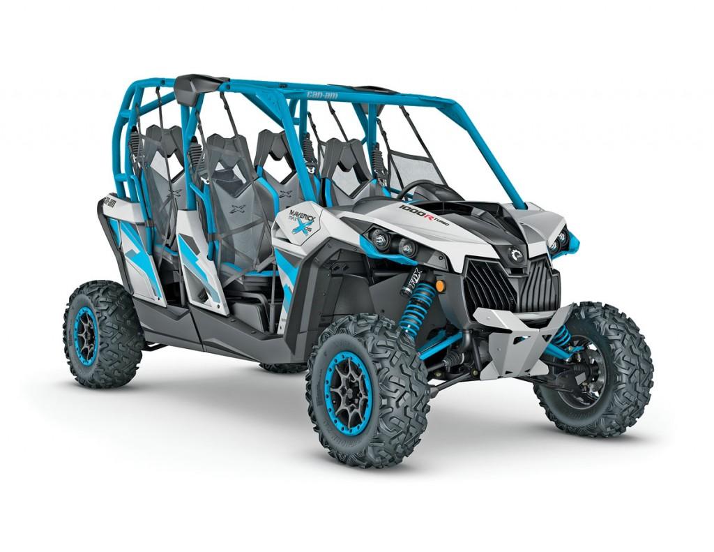 UTVBG_10_2016-Maverick-MAX-X-ds-1000R-TURBO-Hyper-Silver---Octane-Blue_3-4-front