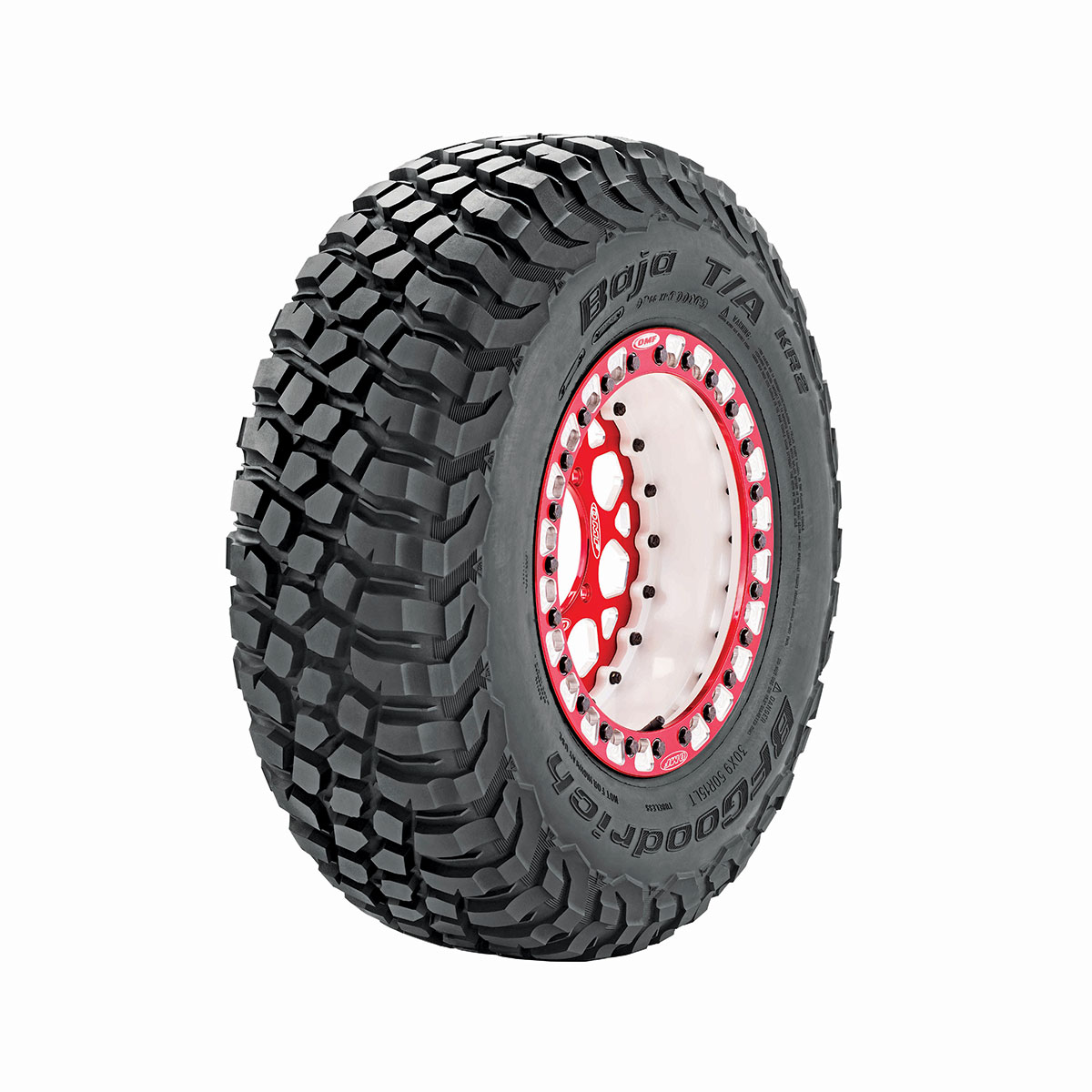 BFG's new KR2 UTV tire is only available in one size—30/9.9-15—but expect a 32-inch option to be available soon. The 30s sell for $258 each, unless you get the racer discount.