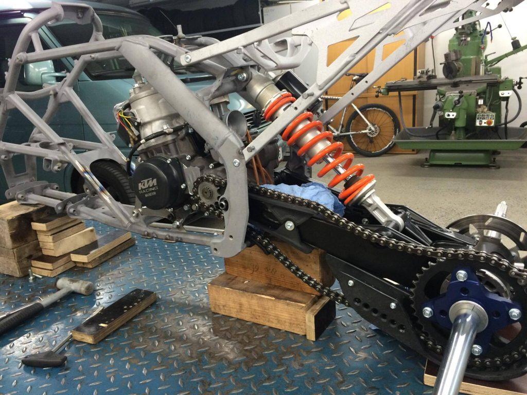 Ktm 380 Sx 2 Stroke Atv With 72 Horsepower Dirt Wheels Magazine