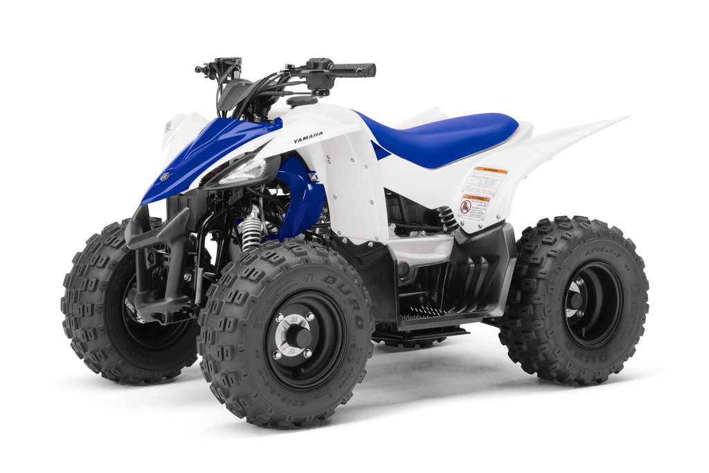 learn more about yamaha 39 s newest sport quad the yfz50 dirt wheels magazine. Black Bedroom Furniture Sets. Home Design Ideas