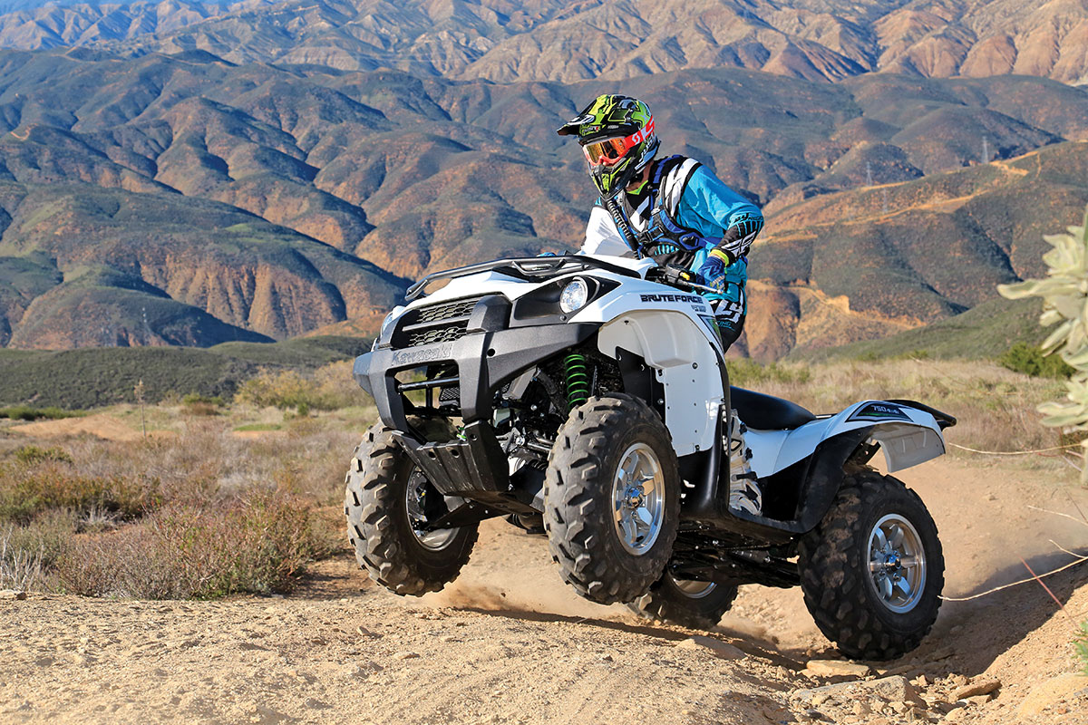 Atv Test Kawasaki Brute Force 750 4x4i Eps Dirt Wheels