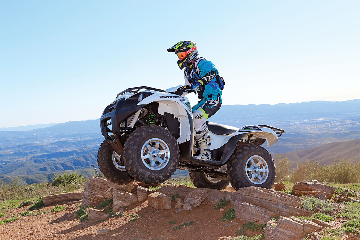 The suspension is smooth at all speeds over rough terrain; however, you won't be skipping over whoop sections with this big 4x4.