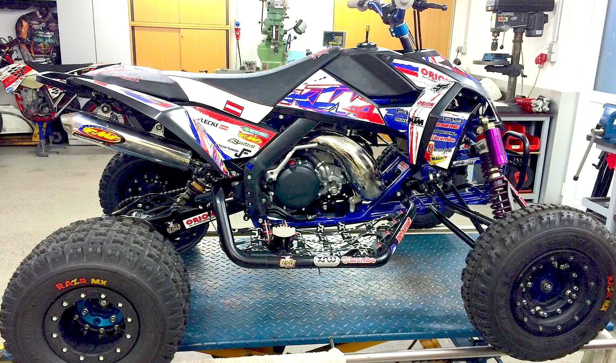 Owners Report Yamaha Blaster besides Buyers Guide 2017 4x4 Atvs furthermore 2015 125 Shootout as well Ktm 380 Sx 2 Stroke Atv With 72 Horsepower further Yamaha fzr1000 87. on yamaha 750 two stroke