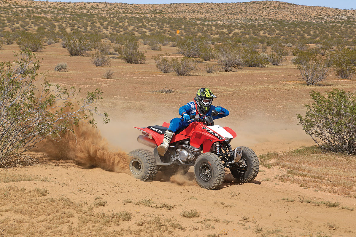 We tested the wheel and tire combination in all types of terrain. They tackled coarse desert sand and rocks with ease.