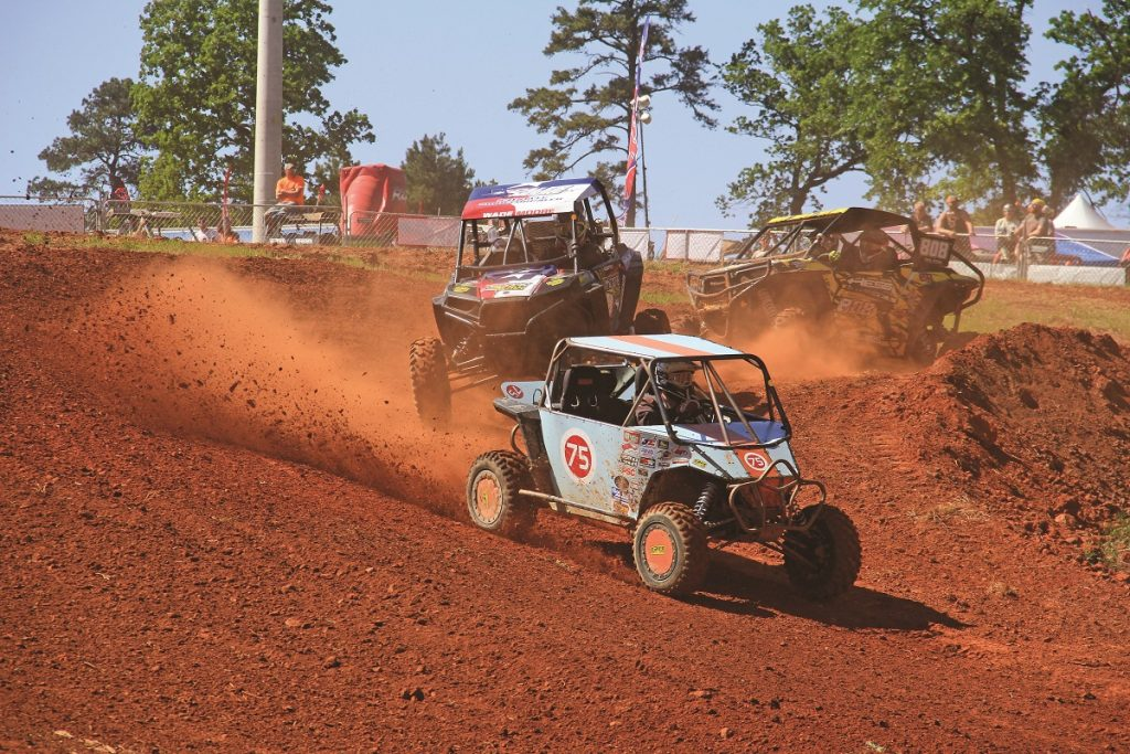 Competitors modified their UTVs in different ways to out-handle and maneuver the other racers.
