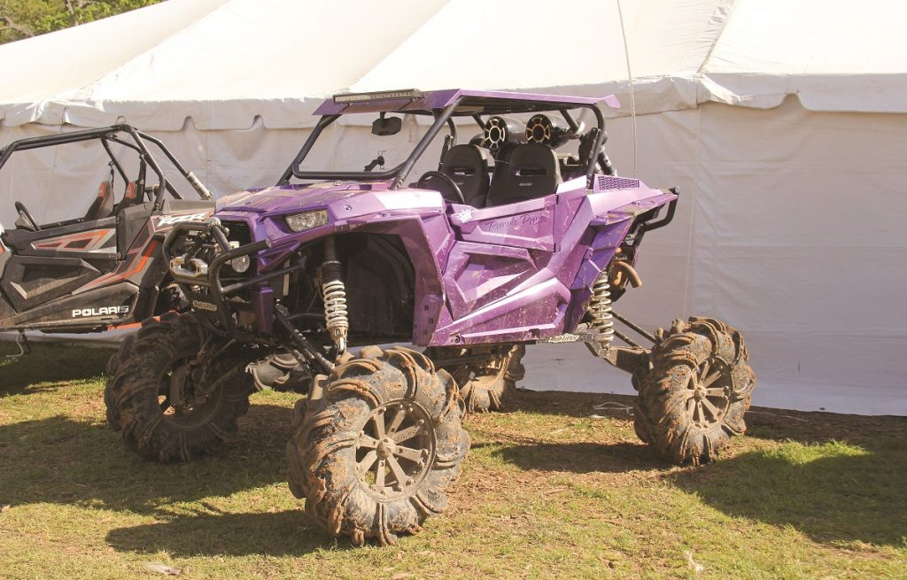 All around the Mud Creek Off-Road Park participants brought machines of all shapes and sizes to play in the deep mud.