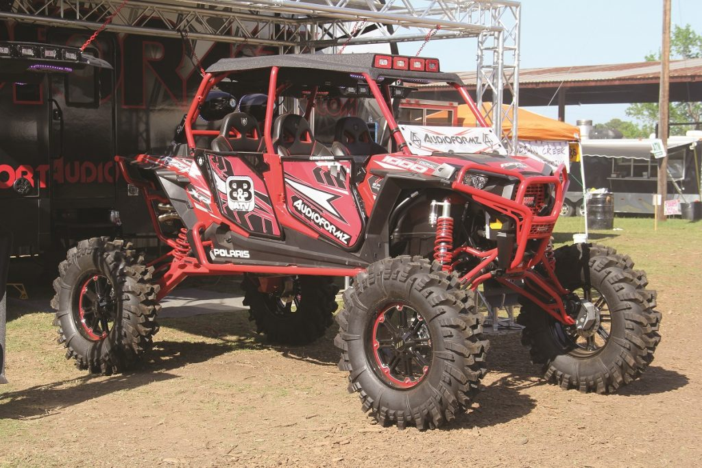 Audioformz put on a radio competition where machines could compete to see whose UTV sound system was better than the rest for a winning of $500.