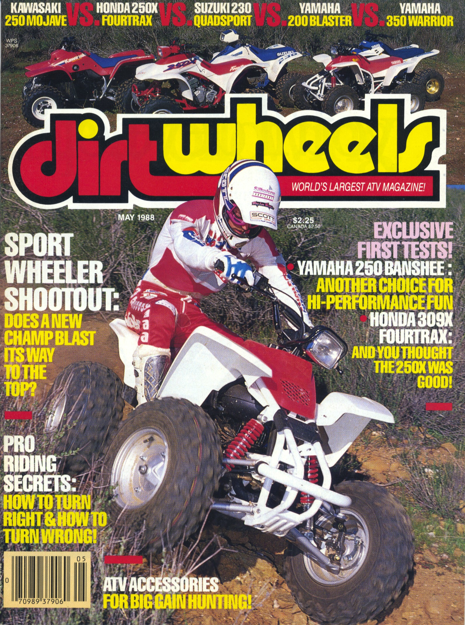 WAY BACK WEDNESDAY: 1988 Sport Quad Shootout | Dirt Wheels Magazine