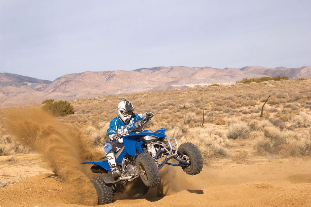 Yamaha's YFZ450 has great hookup out of the corners. It goes exactly where you point it and is easy to fling around. The priced-right YFZ450 is the best of the bunch in the dunes.