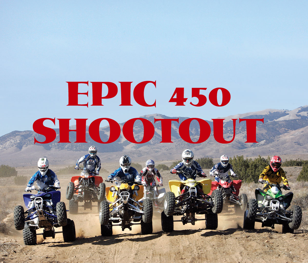 The MOST EPIC 450 shootout! 7 sport quads: BLAST FROM THE PAST