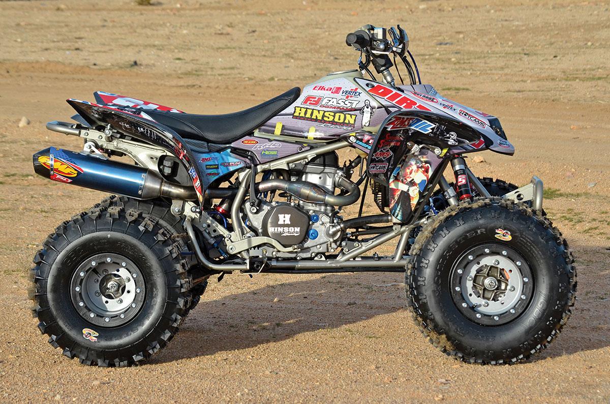 PROJECT HONDA TRX450R: BACK TO THE FUTURE | Dirt Wheels Magazine