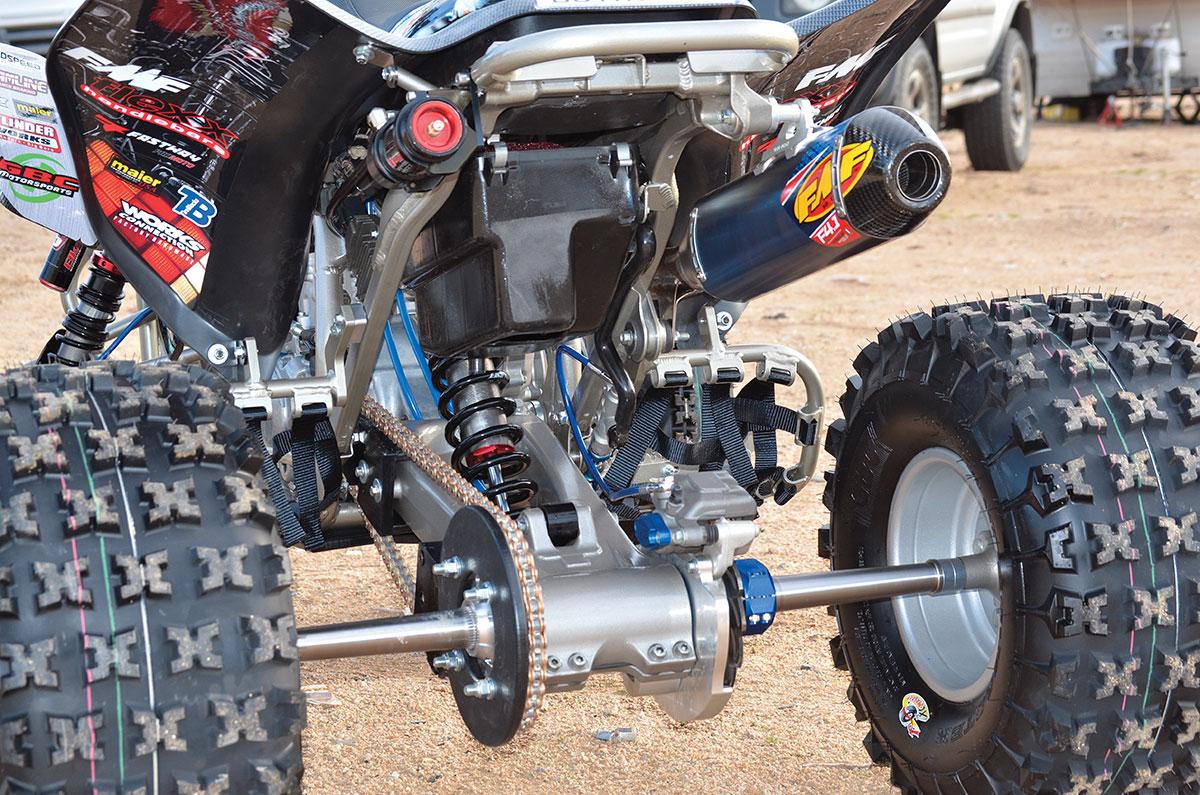 PROJECT HONDA TRX450R: BACK TO THE FUTURE   Dirt Wheels Magazine