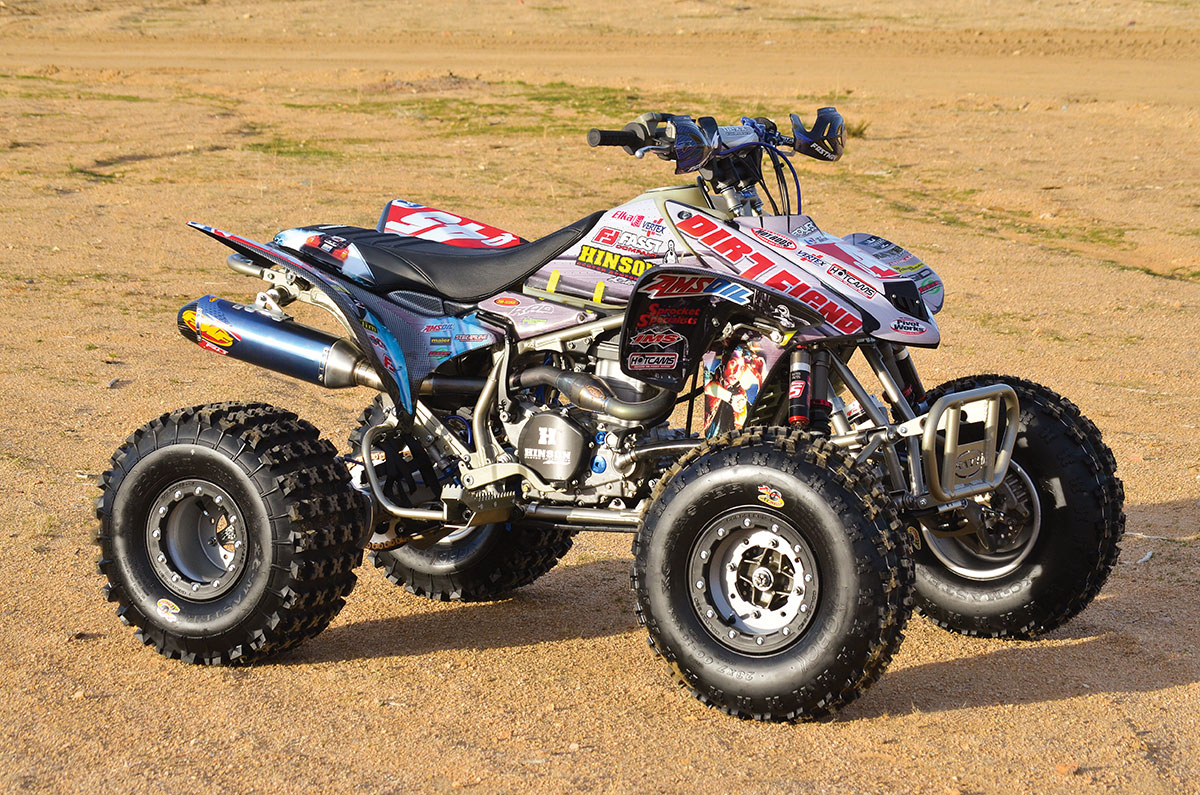 Project Honda Trx450r Back To The Future Dirt Wheels