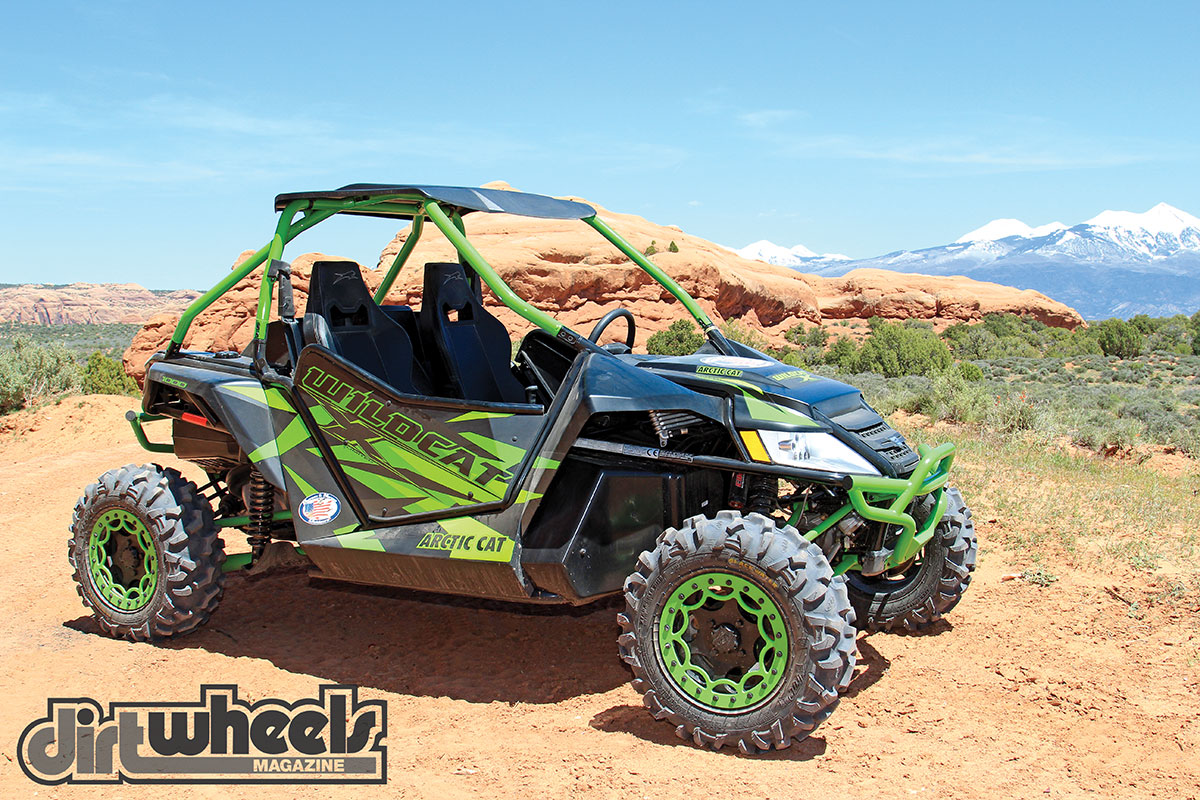 We found the Wildcat to be a good-looking machine. The low-slung look keeps the passenger's weight low, but ground clearance remains generous at 13 inches.