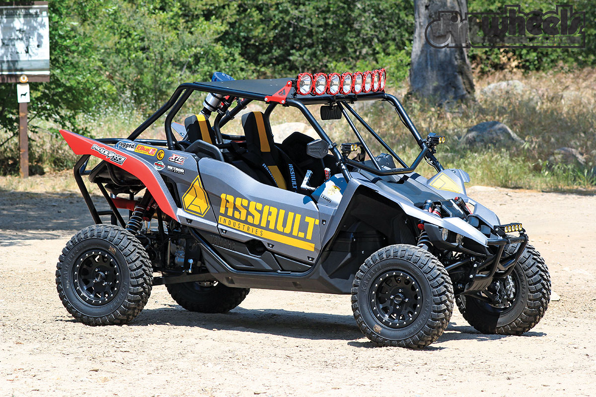 PROJECT UTV: ASSAULT YZX1000R | Dirt Wheels Magazine