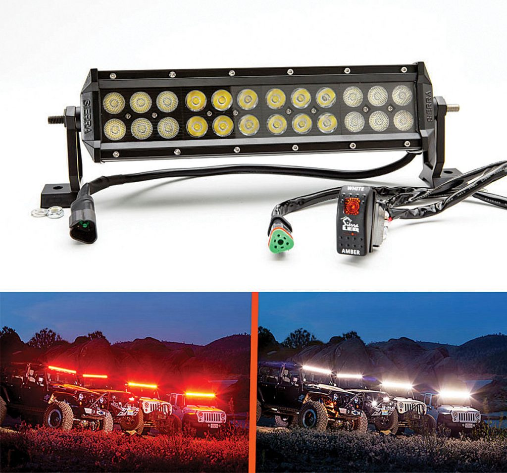 Top Ten Led Light Bars Worth The Money Dirt Wheels Magazine Ktm 300 Headlight Wiring Diagram Sierra Dual Amberwhite Bar