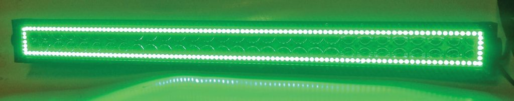 Xtreme Off-Road Brite-Lite light bar.