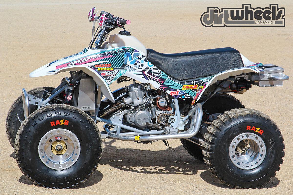 Project Atv Honda Trx250r Dirt Wheels Magazine