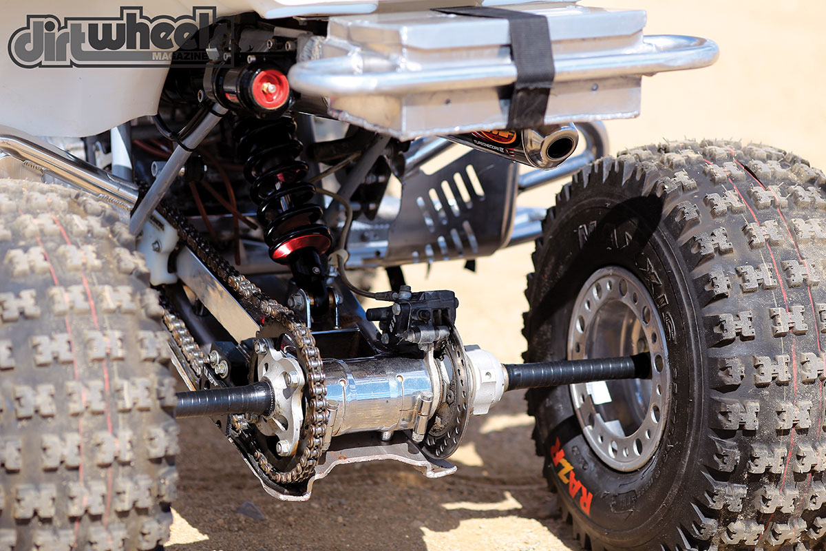 PROJECT ATV: HONDA TRX250R | Dirt Wheels Magazine