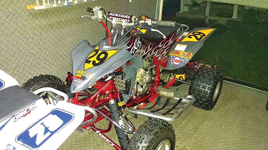 Eric Mann's Yamaha YFZ450