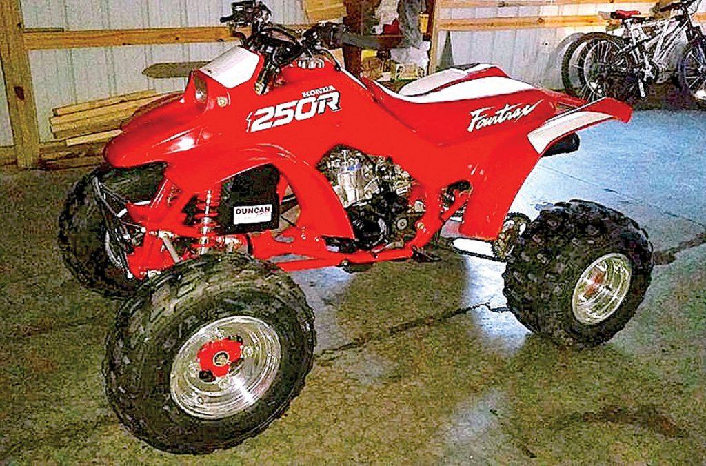 Casey Rodely's Honda TRX250R.