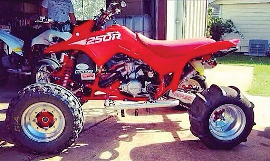 Jason Poole's Honda TRX250R