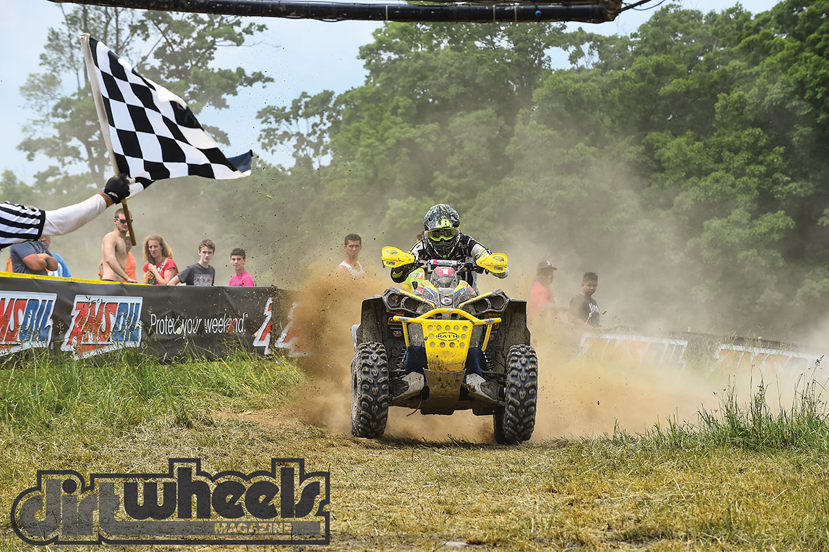Winning comes natural to Buckhannon, and he has the hardware to prove it. He has won eight GNCC utility championships.