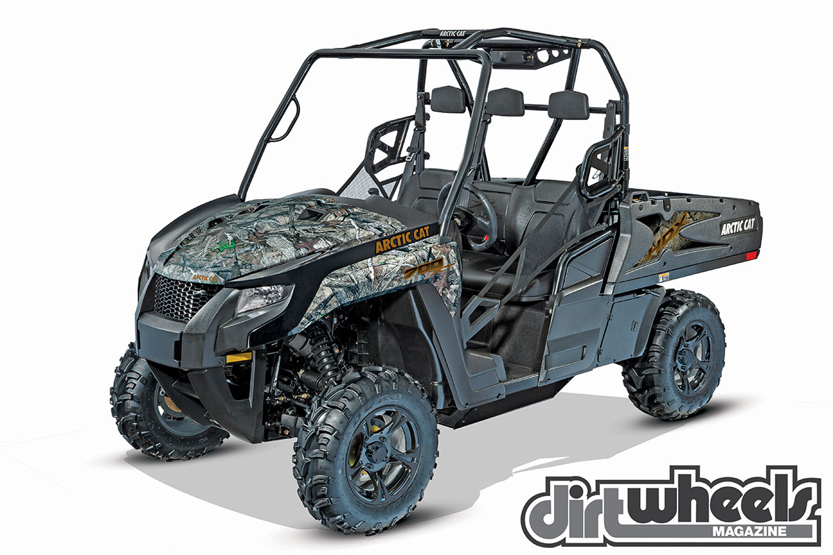 Arctic Cat compares the HDX 700 to a truck. With seating for three, 10 inches of travel, a large single-cylinder engine, cast-aluminum wheels and a transformable bed, the HDX is ready to work or play.