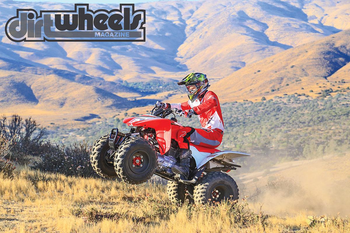 Atv Test 2017 Honda Trx250x Dirt Wheels Magazine