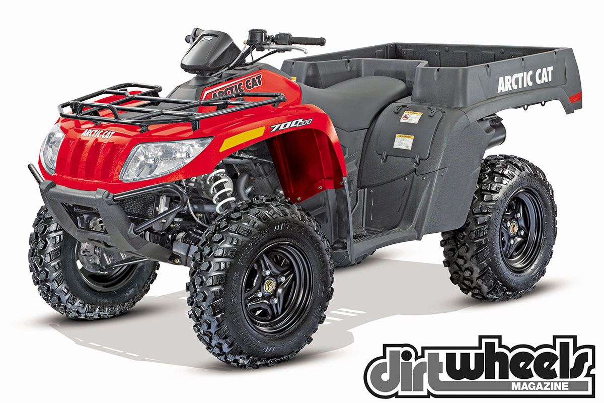 There is no denying that the TBX 700 EPS is for work. It has a bed instead of a rear rack, and it can carry 300 pounds in the bed alone.