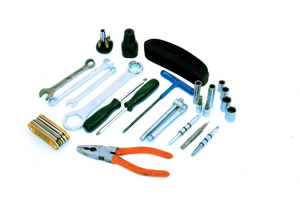 These are some of our favorite pack tools, but we don't carry all of these for every machine. You need to understand what tools you need for your machine.