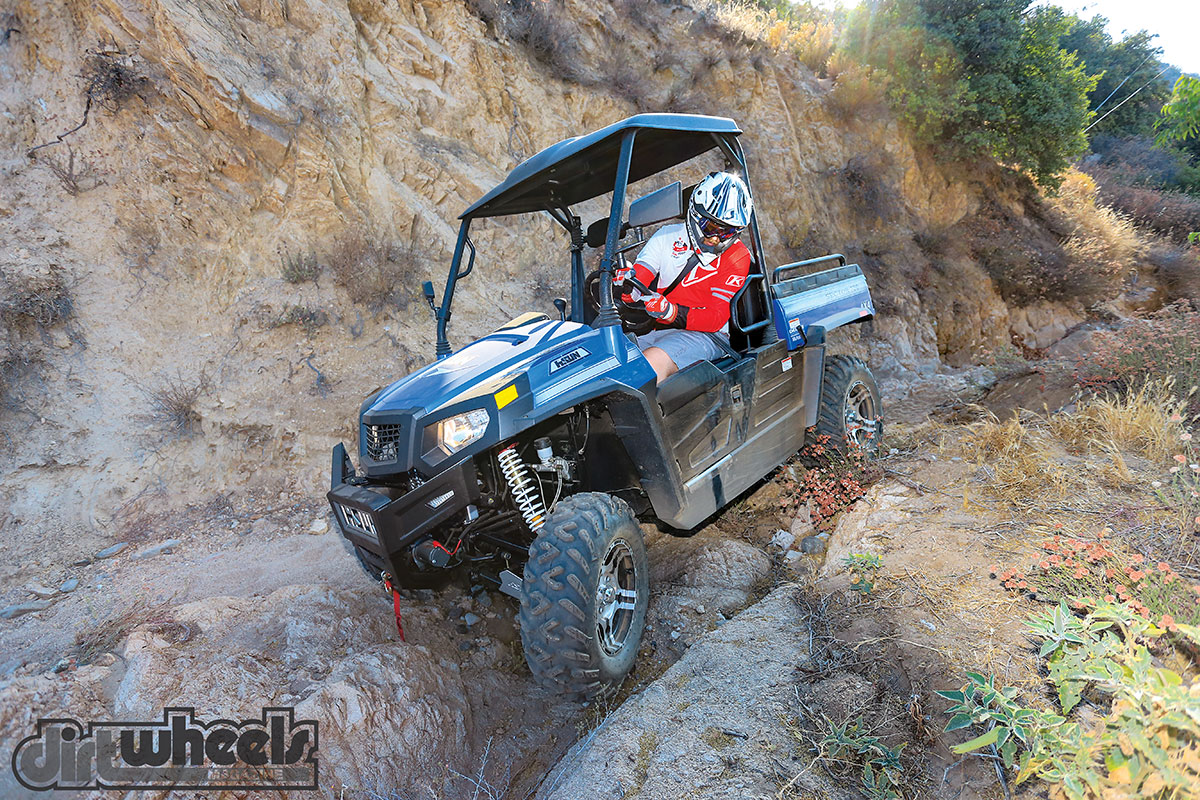 UTV TEST: HISUN SECTOR 750 | Dirt Wheels Magazine