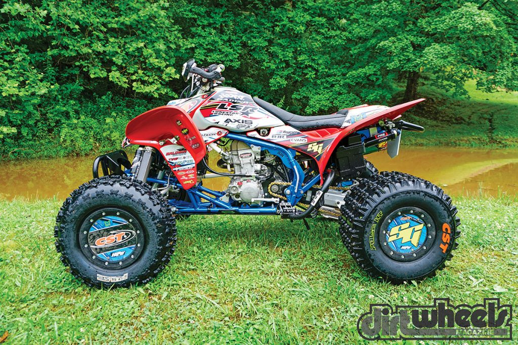 Pro Built Adam Mcgill S Trx450r Dirt Wheels Magazine