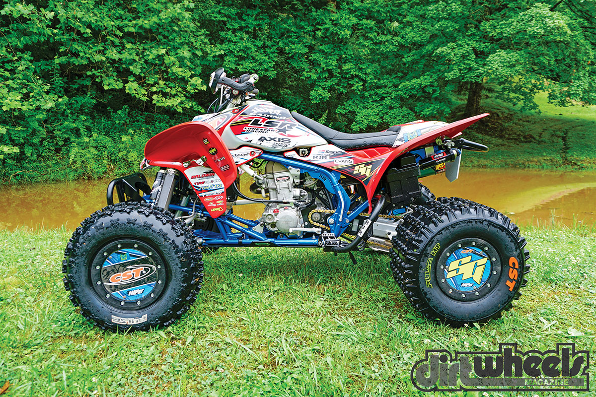 PRO-BUILT: ADAM MCGILL'S TRX450R | Dirt Wheels Magazine