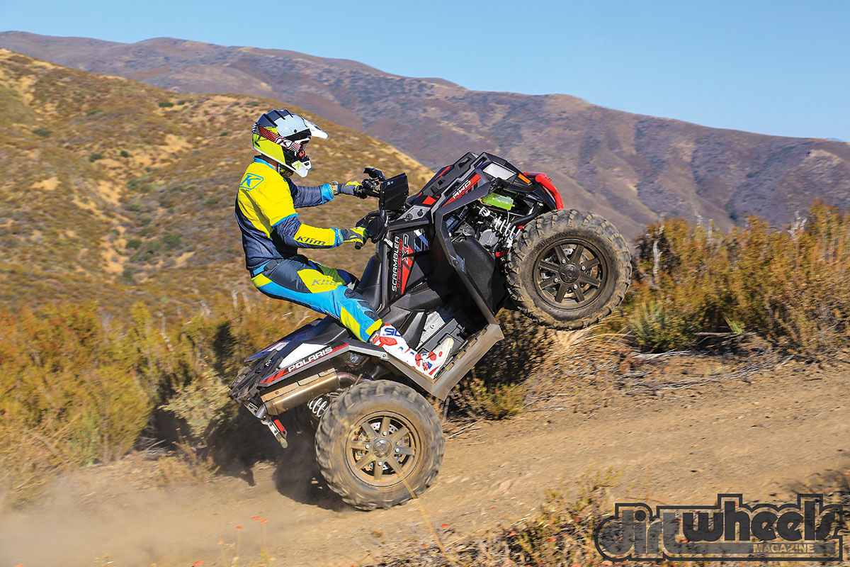 ATV TEST POLARIS SCRAMBLER XP 1000