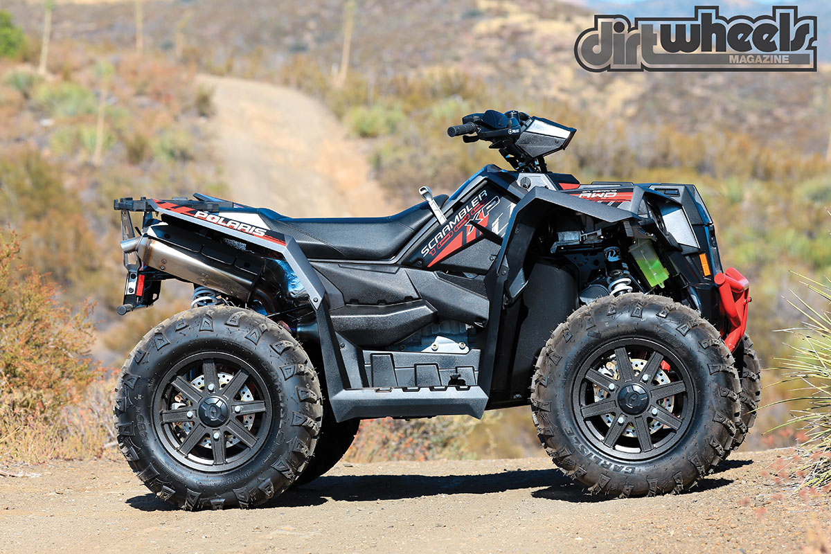 Polaris Scrambler 850 >> ATV TEST: POLARIS SCRAMBLER XP 1000 | Dirt Wheels Magazine