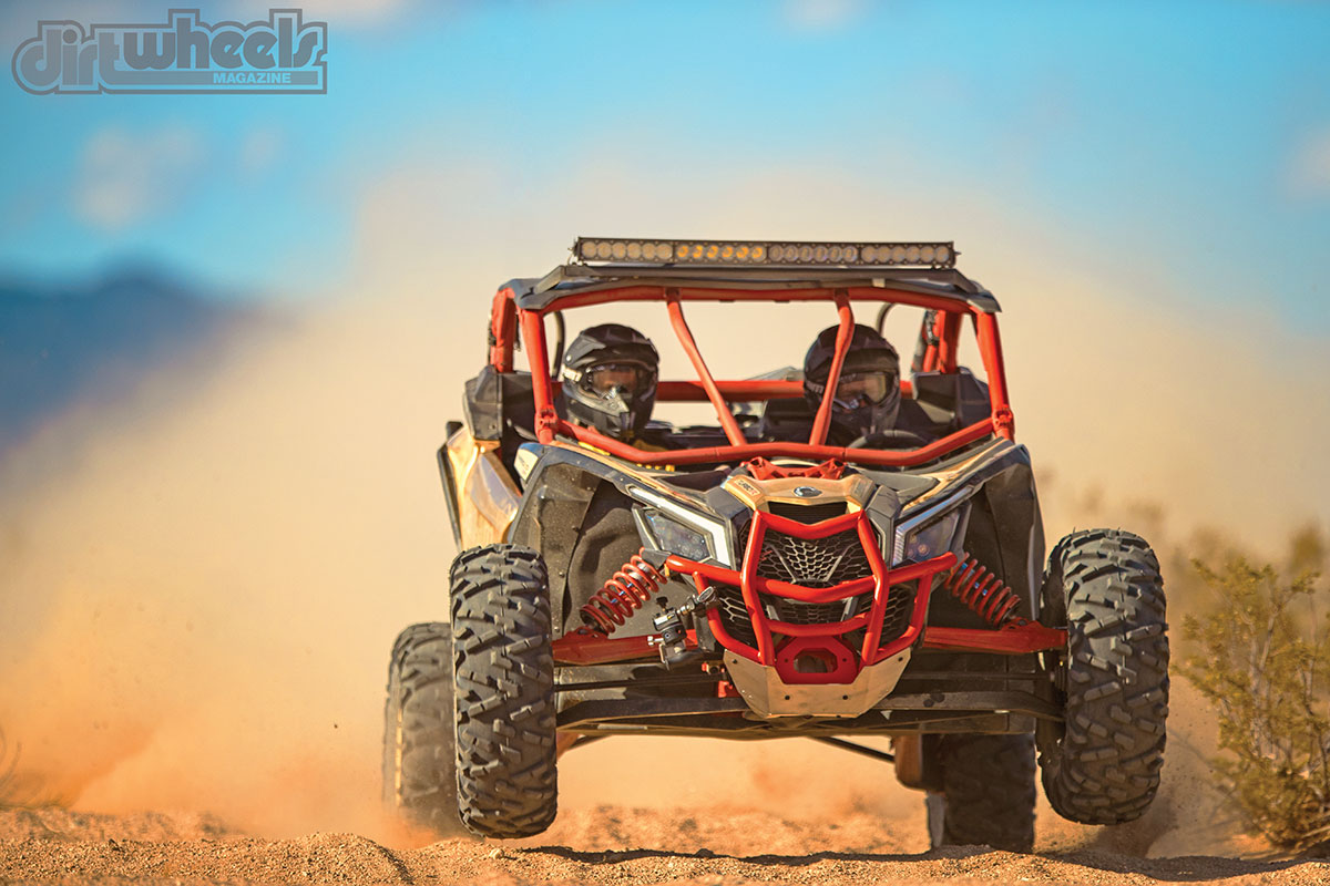 This is what we are looking forward to—getting the long-travel X3 on some rough trails at speed. It should live up to the hype.