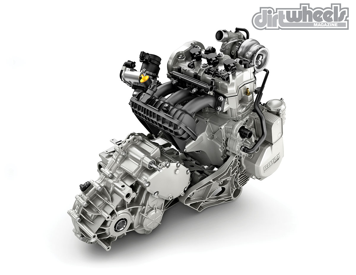 Three cylinders and an inter-cooled turbo system make for big power numbers. The power build-up is smooth and quite controllable for a powerful car.