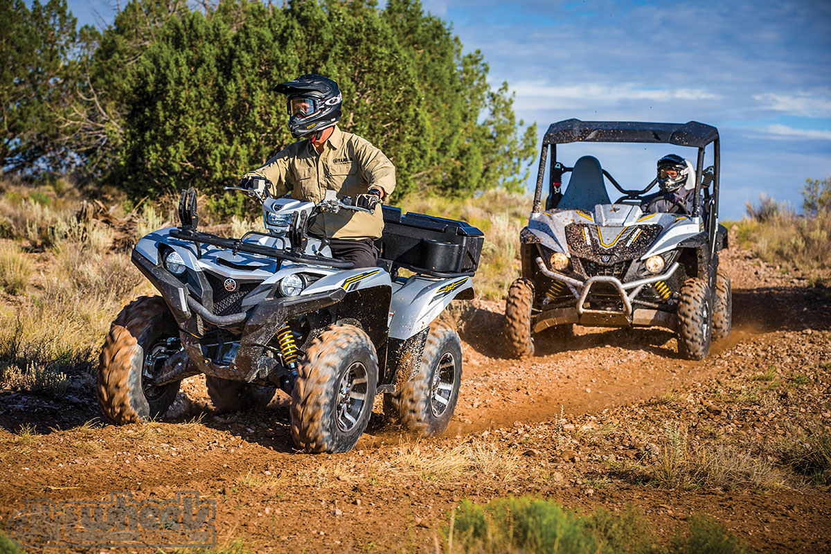 2017 Yamaha Grizzly >> Roosting Shooting 2017 Yamaha Grizzly Wolverine Dirt Wheels