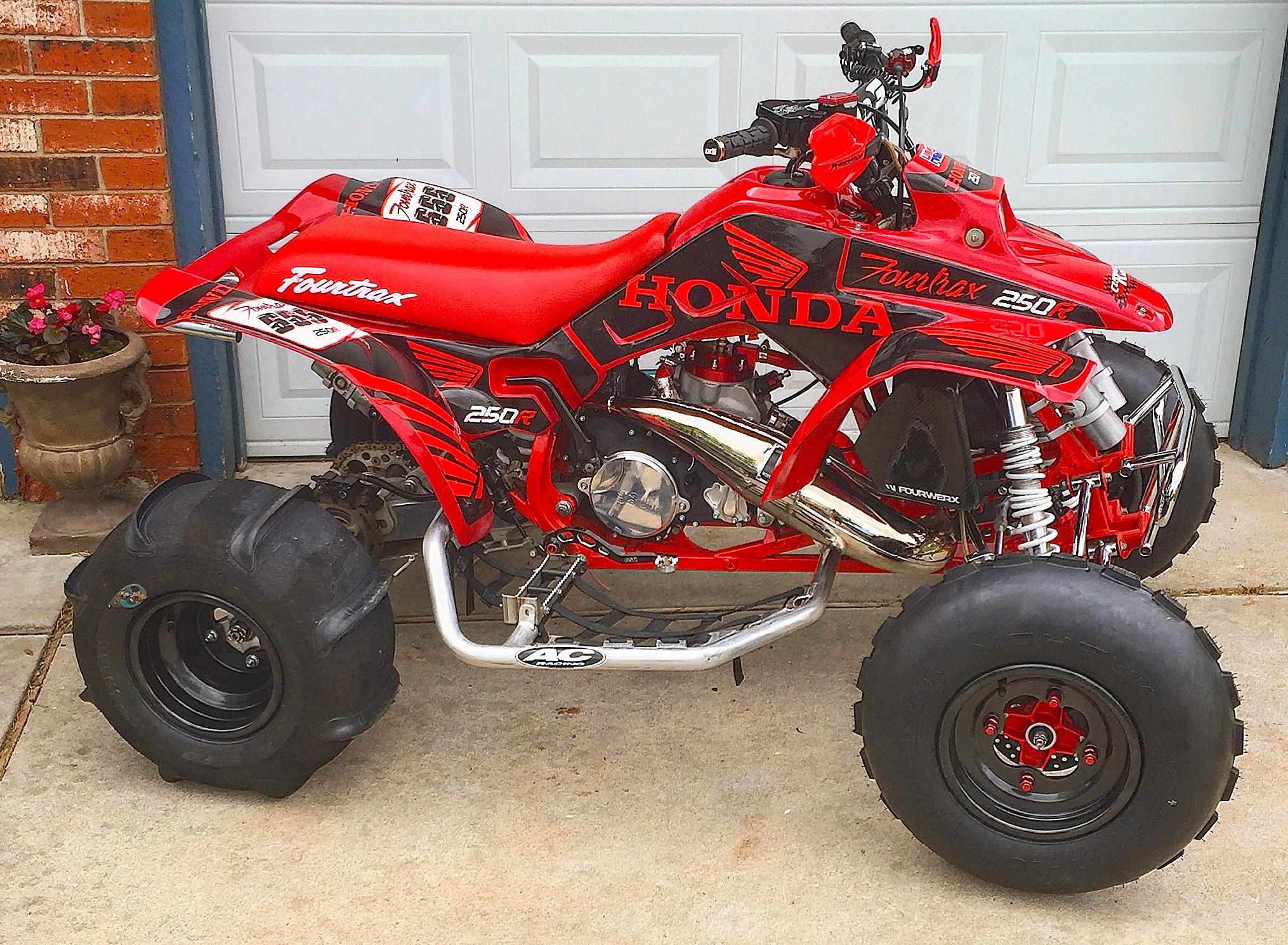 Making A Honda Trx250r Even Better Dirt Wheels Magazine