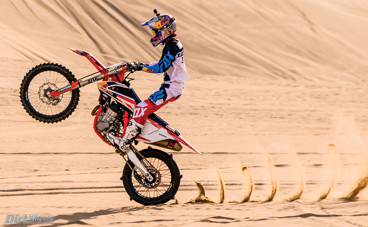 Not only is Ronnie Renner a madman on four wheels, he is one of the most talented dirt bike riders in the world.