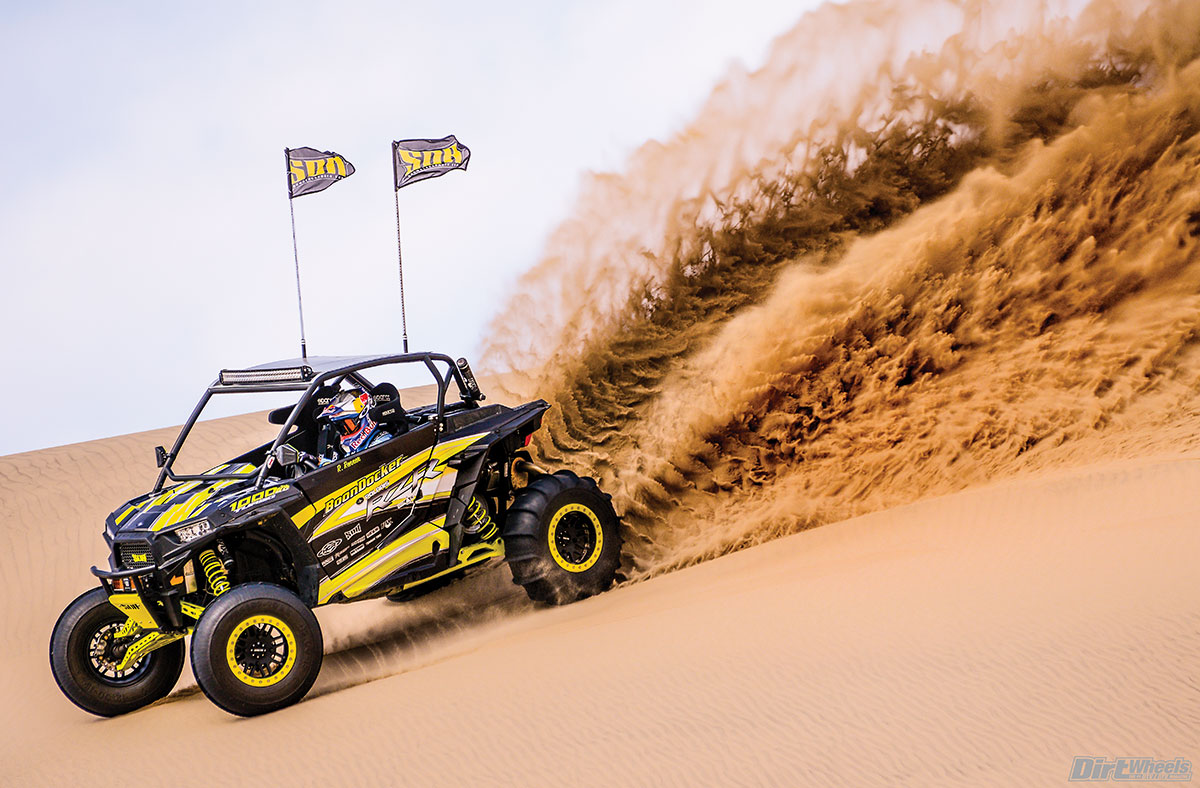 Renner's RZR has immense power coming from the Boondocker engine. There was very little turbo lag and it climbed through the RPM range quickly.